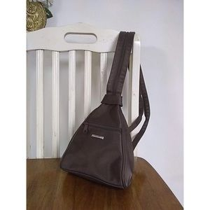 Vintage Brand Convertible Strap Backpack Purse